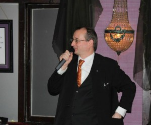 Charity Event Magician and Auctioneer Carl Royle