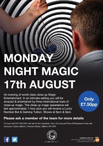 Live Magic Events Manchester